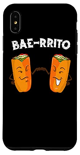 iPhone XS Max Cool Bae-Rito | Funny Burrito Best Friends Foodie Fan Gift Case