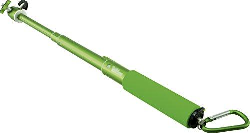 """Rollei Arm Extension S 505 mm (Selfie-Stange für alle Actioncams mit 1/4\"""" Stativgewinde, passend für GoPro Actioncams mit Stativadapter, für Selbstportraits) Green"""