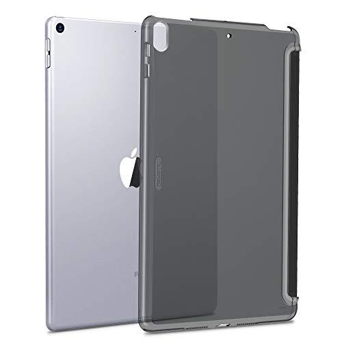 ESR iPad Air 3 ケース iPad Pro 10.5 カバー クリア バックカバー 軽量 スマートキーボード対応 スリム ハード PC キズ防止 指紋防止 iPad Air 2019/ iPad Pro 10.5 2017モデル通用(クリア)