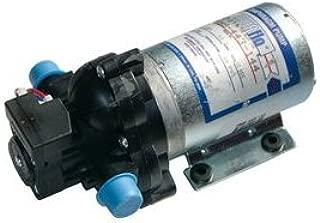 Pentair SHURflo 2088-443-144 Diaphragm Sprayer Pump 3.5 GPM Auto Demand with Back-Flow Preventive Valve and Self-Priming, 45-PSI, 12VDC, 1/2