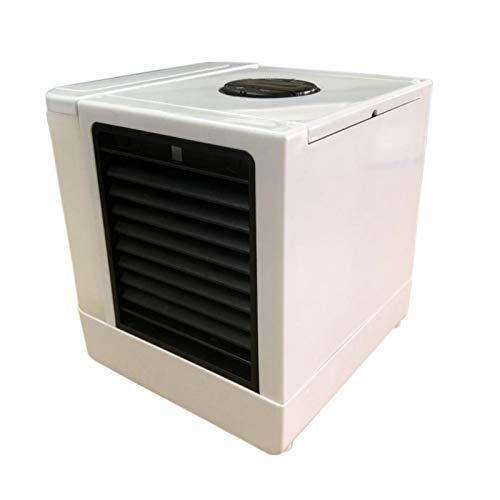 Eruditter Kfz-Klimaanlage, 8w/12V/0.4A USB Portable Tischlüfter 5 Stufeneinstellung, Auto-Klimaanlage LCD Digitalanzeige 375ML