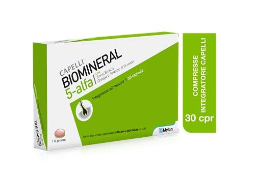 integratore alimentare per la caduta dei capelli Biomineral 5 Alfa 30 compresse