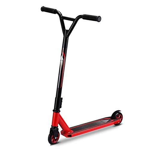 Pro Scooter, patinetes Strick giratorios de 360 ° para adultos y adolescentes, pegatinas de seguridad antideslizantes, rueda con núcleo de aluminio + rueda sólida de PU para niños mayores de 10 años