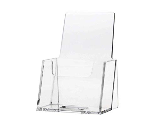Marketing Holders Business Card Holder Display Stand Single Pocket Gift Card Display Rack Organizer Display HandOut Value Pack of 12 Premium Acrylic