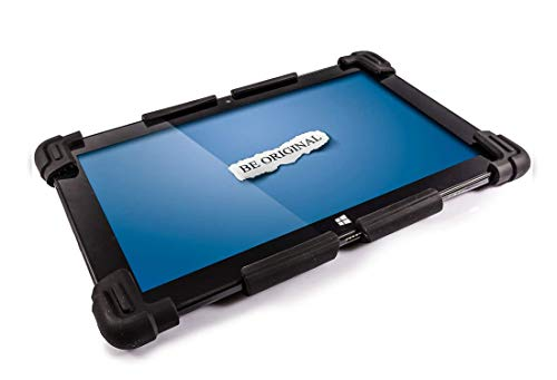 Universal Tablet PC Silicone Gel Case for 10' to 12' - Suitable for 10', 10.1', 10.6', 11.1', 11.6', 12' Tablet PCs (BLACK)