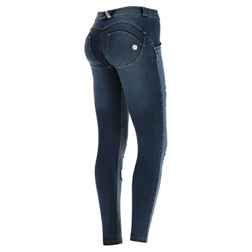 Freddy Damen Wrup1rf803, Blau (Jeans Scuro/Cuciture Gialle J0Y), 38 (Herstellergröße: Medium)
