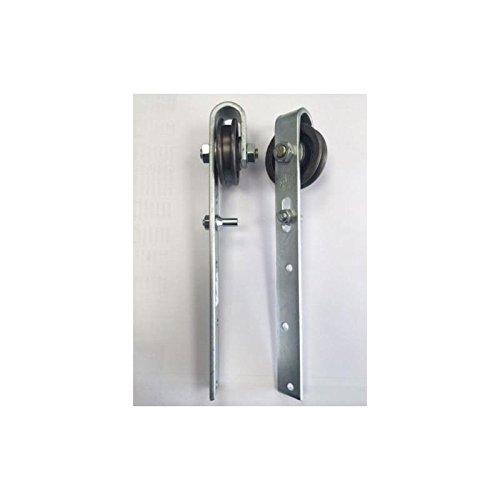 Schiebetürrollen 60mm Schiebetür Schiene Rolle Schieberolle Schiebetüren