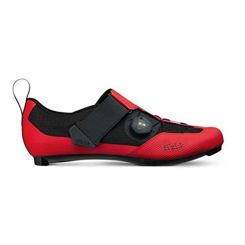 Fizik Transiro Infinito R3 Chaussures de triathlon Rouge/Noir Taille EU 43 2020 Chaussures de vélo