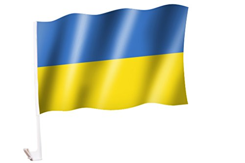 Autoflagge/Autofahne Ukraine