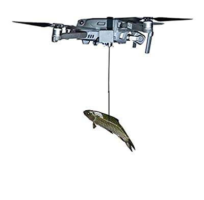 Mavic 2 Pro/Zoom Drone Clip Payload Delivery Airdropper Transport Device Drone Release Fishing Bait Release Fishing Drone Carrying Wedding Proposal Device Drone(Load Capacity 0.95Ib)
