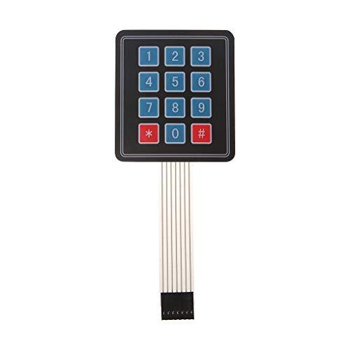 Huy Matrix Array 12-Tasten-Membranschalter-Tastatur , Für AVR 4 X 3