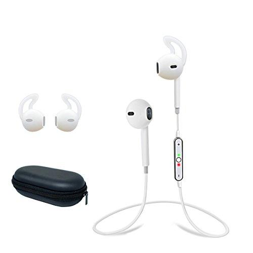 giiknew cuffie bluetooth GIIKNEW - Auricolari Bluetooth 4.1 con microfono e controllo vocale