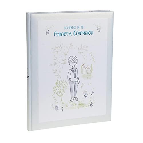 Busquets Libro Recuerdos Primera Comunión Niño Azul