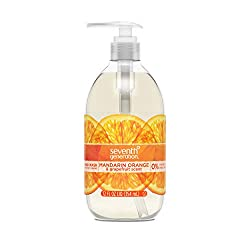 Seventh Generation Hand Wash, Mandarin Orange & Grapefruit Scent, 12oz