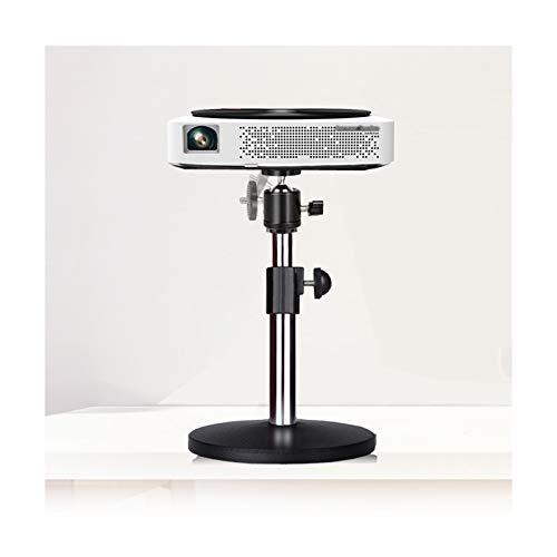Atriles para proyectores Soporte de proyector negro multifuncional, soporte de proyector de videocámara de cámara, altura ajustable 10.2-14.2 pulgadas for proyectores / fotografía / DJ Soporte Proyect