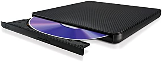 LG SP80NB60 8X DVDRW DL USB 2.0 Ultra-Slim External Drive w/M-Disk Support (Black)