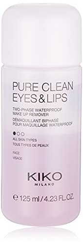 KIKO Milano Pure Clean Eyes & Lips | Two-phase makeup remover for eyes and...