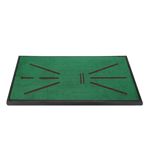 N \ A Large Velvet Golf Hitting Mat - Professional Chipping Training Aids (Analysis & Correct Your Swing Path) Portable Pad for Indoor or Outdoor Backyard Practice