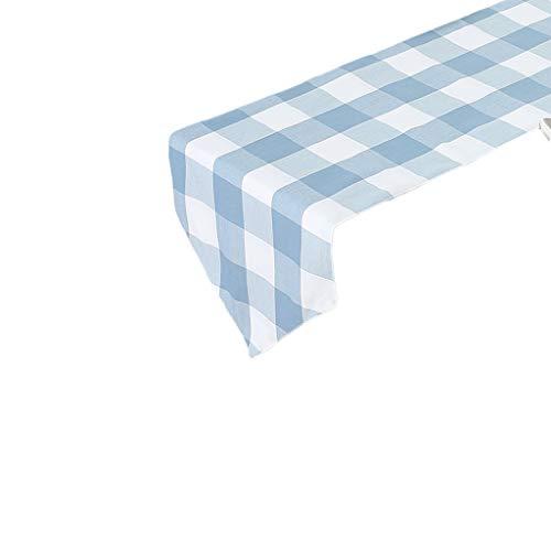 XMJ Geen hanger vlag, moderne mode, minimalistisch, Chinees en Amerikaans, stof voor tuin, vijf kleuren, 30 x 120 cm, 30 * 260cm Blauw