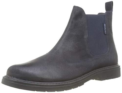 Naturino Jungen Piccadilly Chelsea Boots, Blau (Bleu 0c01), 33 EU