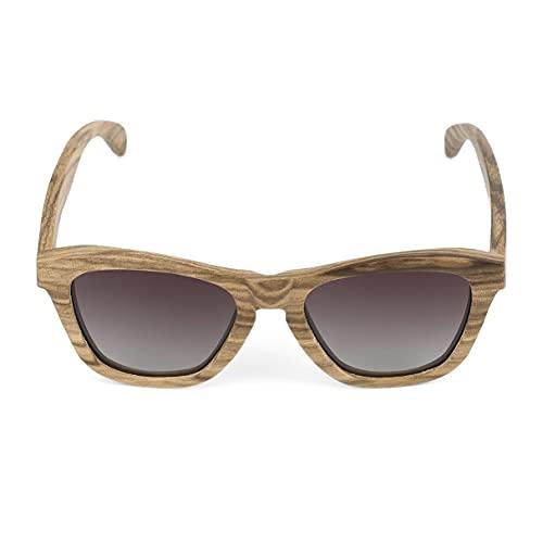 MooFee Gafas de Sol polarizadas para Mujer Hombre Retro TR90 Mirrored HD Polarized UV400D Lens Gafas de Sol Unisex