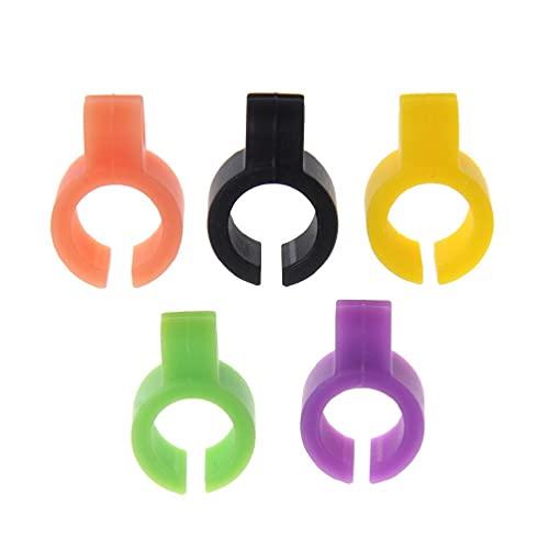 XIANZI 5 anillos de soporte de silicona para cigarrillos, manos libres para consolas de PC, anillos para hombre