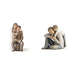 Willow Tree collection by Susan Lordi Released in 2012 A couple in relaxed pose Gift box Willow Tree collection by Susan Lordi Figurative sculptures representing sentiments of love Hand-made and hand-painted Crafted to create a carved wood effect