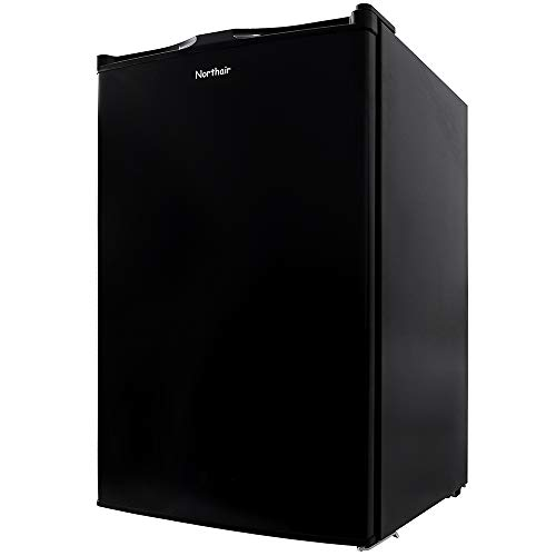 Northair Upright Freezer with 3.0 Cubic Feet Capacity, Compact Reversible Single Door Vertical Freezers for Home/Hotel/Apartment/Office, Removable Shelf, Adjustable Thermostat.