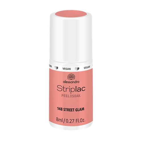 alessandro Striplac Peel or Soak Street Glam - LED-Nagellack in Rose - Für perfekte Nägel in 15 Minuten, 8 ml