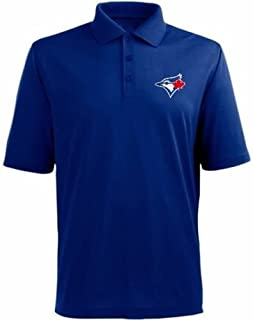Toronto Blue Jays MLB MJM Dri Fit Polo Golf Shirt Blue Big Sizes