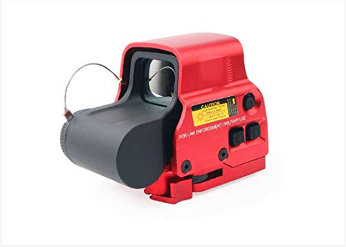 AKFIRE 558 Red/Green Installation Special Quick Detachable red dot for Metal Holographic Sight (Red)