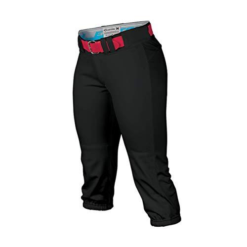 EASTON Women's PROWESS Softball Pant, Black, Medium