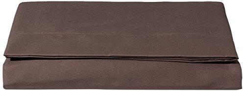 AmazonBasics FLT, Hoja de Microfibra, 280 x 320 + 10 cm, Marrón