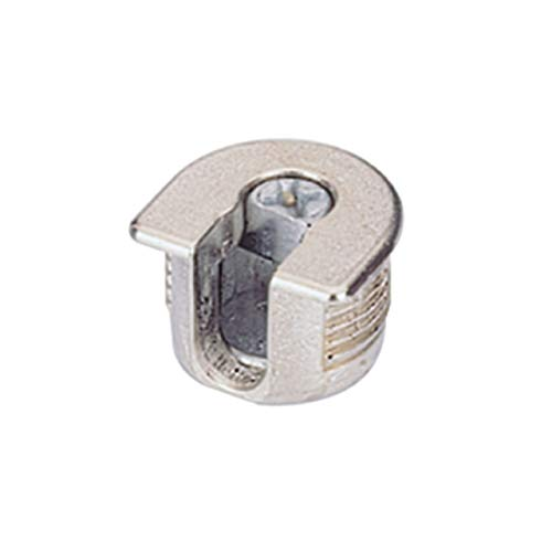 Hettich 65509 VB 35 D-Herraje excéntrico (diámetro: 20, Grosor de la Placa 16, niquelado), Set de 200 Piezas