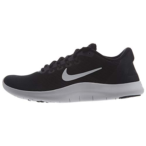 Nike Women's Flex 2018 RN Running Shoes (7 B(M) US, Black/White-Black)