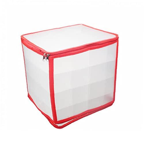 Almacenamiento de Navidad chuchería de la bolsa de almacenamiento / Clasificación de las cajas Titular del árbol de Navidad Adornos de Navidad Decoración contenedor de almacenamiento Organizador