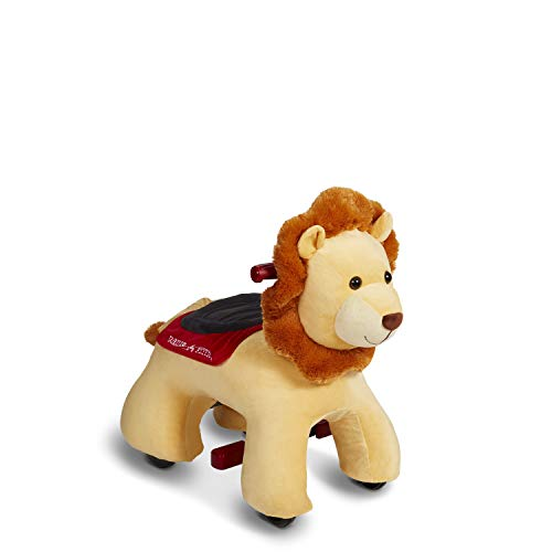 Radio Flyer Rory Electric Ride-On Lion with Sounds, Yellow (Amazon Exclusive) JungleDealsBlog.com