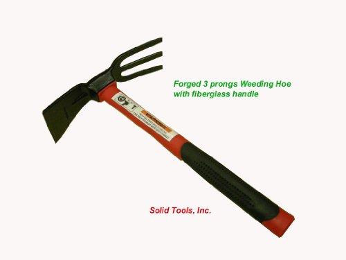 Forgecraft USA Adze Hoe with hand Tiller