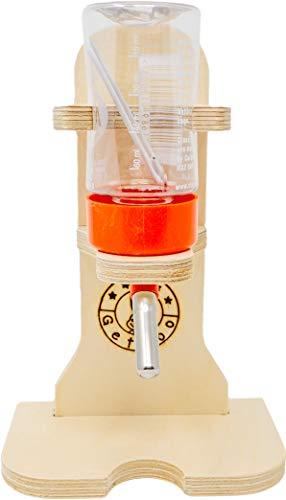 Getzoo Tränke aus Holz + Classic® Trinkflasche 75 ml - 2