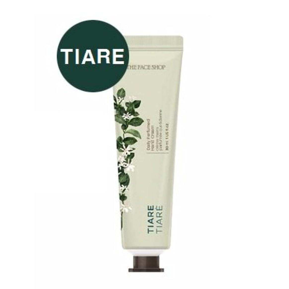 ロンドンオーバーフローファウルTHE FACE SHOP Daily Perfume Hand Cream [02. Tiare] ザフェイスショップ デイリーパフュームハンドクリーム [02. ティアレ] [new] [並行輸入品]