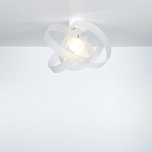 EMPORIUM31 Emporium Lampada a Sospensione Nuvola Bianco Satinato