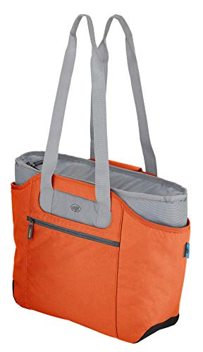 alfi 0007.204.812 Shopper isoBag M, Polyester, mango, 23 L, inkl. herausnehmbarer Kühltasche