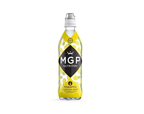 MGP Pineapple Hydration Drinks (12 Pack). Vegan Friendly with Added Vitamins, Designed to Actively Replenish Whilst You Play and Help You to Recover After.