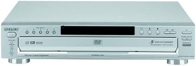 Sony DVP-NC665P/S 5-Disc Progressive Scan DVD Changer, Silver