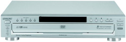 Lowest Price! Sony DVP-NC665P/S 5-Disc Progressive Scan DVD Changer, Silver