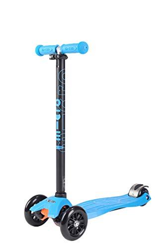 Micro Kinderroller Maxi Kickboard Aqua mit T-Lenker