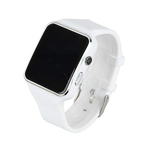 YASB 2020 Mujeres De Los Hombres De La Presión Arterial A Prueba De Agua Reloj Elegante Monitor Smartwatch Monitor De Ritmo Cardíaco Registro De Sueño del Reloj del Reloj para Android iOS,Blanco