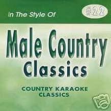 MALE HITS 2 Country Karaoke Classics CDG Music CD