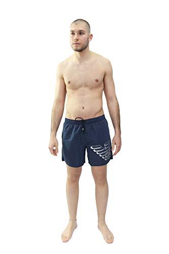 Emporio Armani Underwear 9p427 Costume da Bagno, Blu (Blu Navy 06935), Medium (Taglia Produttore: 50) Uomo