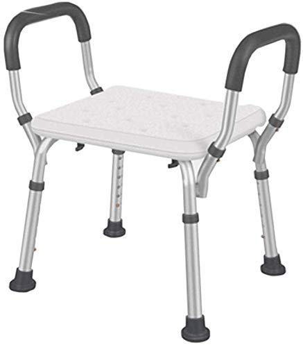 ZXY-NAN Bathroom Wheelchairs Shower Chair Bathroom Non-Slip Bath Seat Stool Bathroom Shower Chair Aluminum Alloy Elderly Pregnant Women Bath Stool